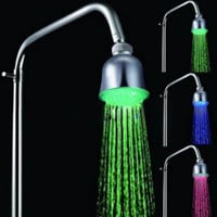 Chrome LED Rainfall Shower Head 1039-M4304 - US$ 12.99