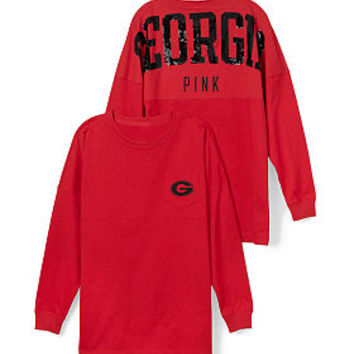 University of Georgia Bling Varsity Crew - PINK - Victoria's Secret