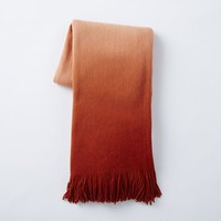 Softest Throw Ombre, Cayenne