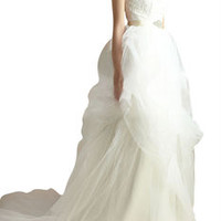 Strapless Wedding Ball Gown