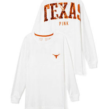 University of Texas Bling Varsity Crew - PINK - Victoria's Secret
