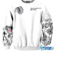 Fan Girl Tattoo Crewneck - PRE ORDER 21 DAYS