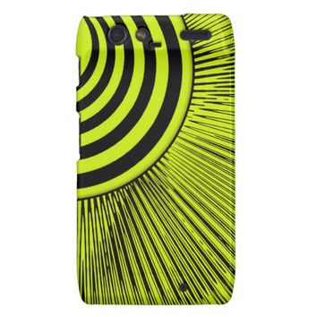 Abstract Sunshine Motorola Droid Razr Case