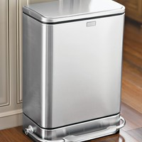simplehuman™ Steel Bar™ Step Trash Can