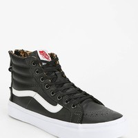 Vans Sk8-Hi Back-Zip Leather Women's High-Top Sneaker - Urban Outfitters