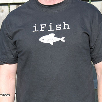 iFish Fishing Shirt,  T-shirt, Fishing, Fish