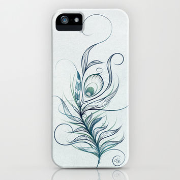 Peacock Feather iPhone & iPod Case by LouJah | Society6