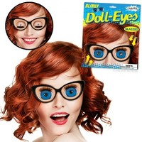 Classic Blinky Doll Eye Glasses