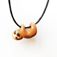 Cute Baby Sloth Necklace