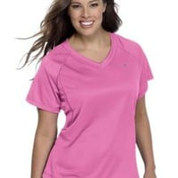 Plus Size Champion Double Dry® Women's T Shirt | # 22925 | Justmysize.com