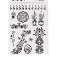 HENNA DESIGN TEMPORARY TATTOO