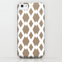 Daffy Lattice Cafe Latte iPhone & iPod Case by Lisa Argyropoulos | Society6