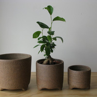 Bridget Bodenham Raku Planter - natural| Mr Kitly