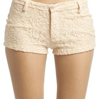 Lace Short | Wet Seal