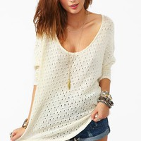 Pointelle Knit  in  What's New at Nasty Gal