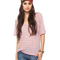 Striped Raglan Top | FOREVER21 - 2015035673