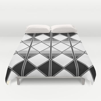 Triangles Duvet Cover by VanessaGF