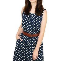 Polka Dot Dress Tank Cut