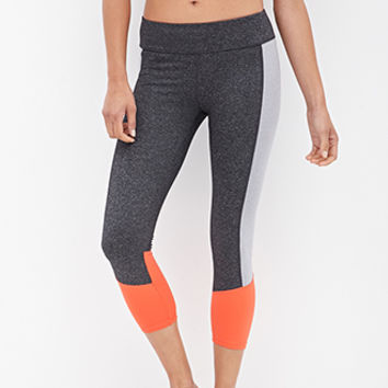 Triple Blocked Workout Capris