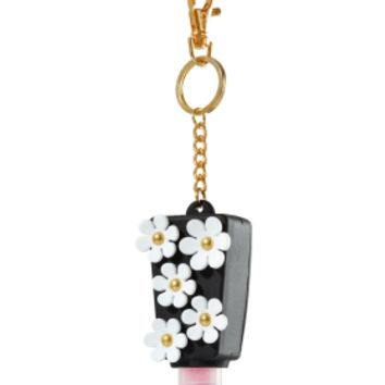 PocketBac Holder Black & White Flowers
