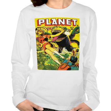 VINTAGE SCI FI Apparel Long Sleeve T-Shirt