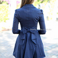 FROM PARIS WITH LOVE JACKET , DRESSES, TOPS, BOTTOMS, JACKETS & JUMPERS, ACCESSORIES, 50% OFF , PRE ORDER, NEW ARRIVALS, PLAYSUIT, COLOUR, GIFT VOUCHER,,Blue,LONG SLEEVES Australia, Queensland, Brisbane