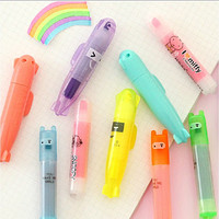 New Arrival! Super cute 6 colors highlighter marker pen for DIY scrapbook deco, paper working, weddding deco, diary