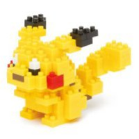 Nanoblock pokemon pikachu NBPM-001 2013 Limited Edition