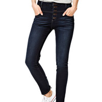 Skylar High-Rise Skinny Jeans in River Blue