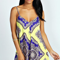 Elvie Large Baroque Swing Playsuit