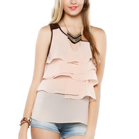 Papaya Clothing Online :: RUFFLED ONE SHOULDER TOP