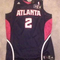 Atlanta Hawks Joe Johnson Adidas Swingman Jersey NBA Size XL  Authentic