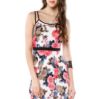 Papaya Clothing Online :: PINK ROSE HIGH-LOW DRESS