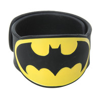 DC Comics Batman Logo Slap Bracelet