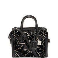 Ivy Jacquard Mini Padlock Alexander McQueen | Top Handle | Bags |