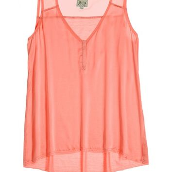 Sadie Mixed Media Silk Tank | Calypso St. Barth