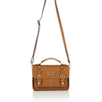 Mini Kingston Satchel Bag | Brown | Accessorize