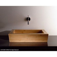 Stone Forest Moso Bamboo Vessel - Bathroom Sinks - Modenus Catalog