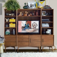 Mid-Century Media 6-Piece Set - Acorn