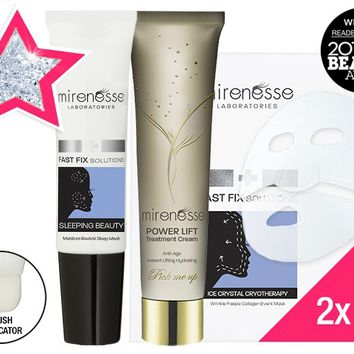 *SP STAR DEAL Hydration Heaven - Sleeping Beauty Power Lift Moisture Revivial Treatment 4Pce Kit - Mirenesse