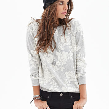 Heathered Rose Sweatshirt