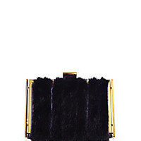 Nina Ricci - Furry Ecrin Minaudière - Saks Fifth Avenue Mobile