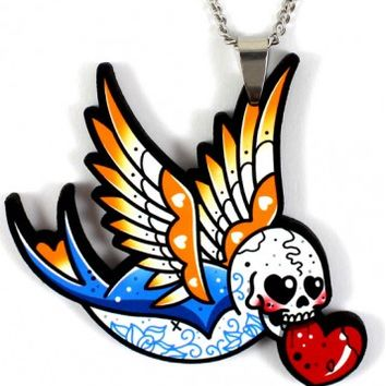 NECKLACE | Swallow Heart