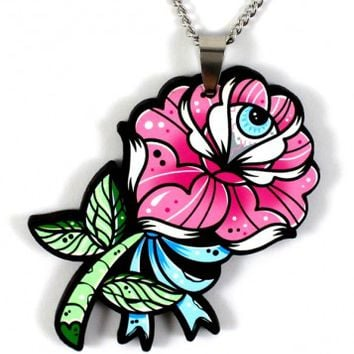 NECKLACE | Rose Eye Blossom