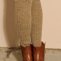Heavy Cable Knit Leg Warmers - NEW - Shop Online
