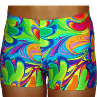 Volleyball Spandex Shorts - Retro