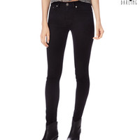 Tokyo Darling High-Waisted Black Wash Jegging