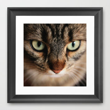 Tiger Lili 3 Framed Art Print by Steffi ~ findsFUNDSTUECKE