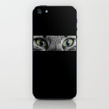 cats details eyes iPhone & iPod Skin by Steffi ~ findsFUNDSTUECKE