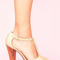Glitter T-Strap Platform | NASTY GAL | Jeffrey Campbell shoes, Cheap Monday, MinkPink, BB Dakota, UNIF + more!